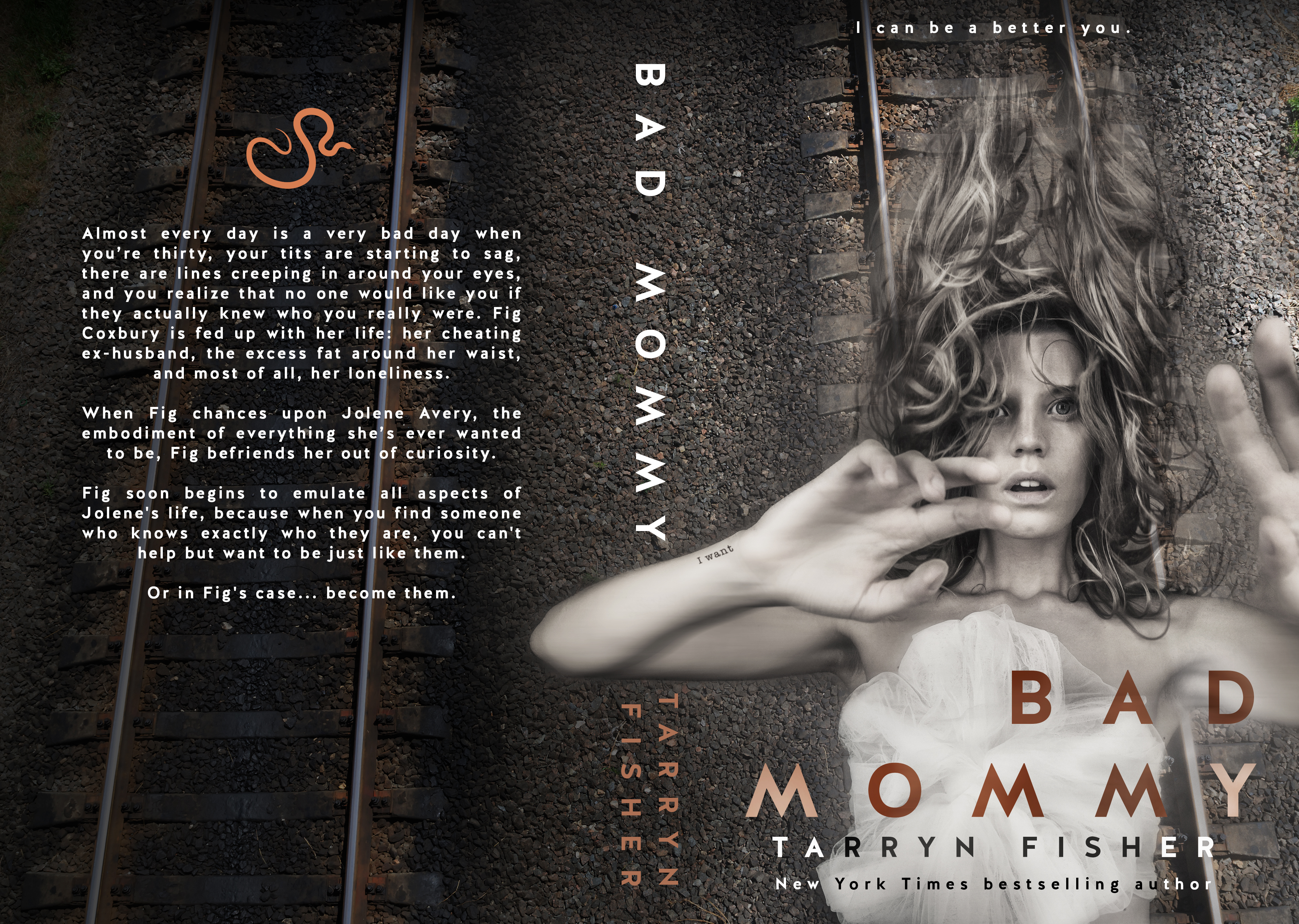Bad Mommy by Tarryn Fisher #CoverReveal @Tarryn__Fisher