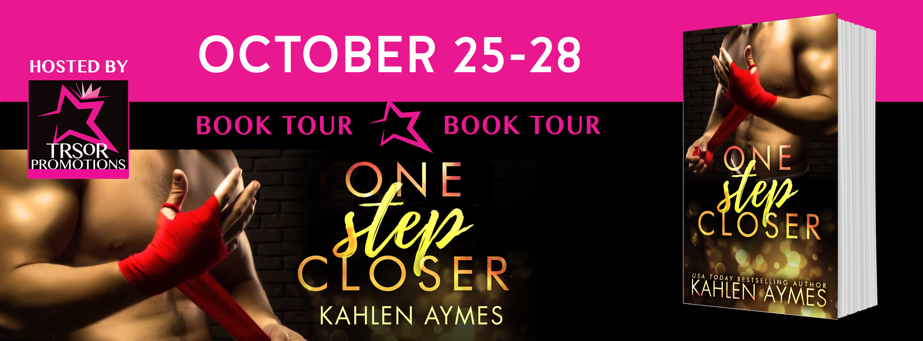 One Step Closer by Kahlen Aymes Blog Tour #Review