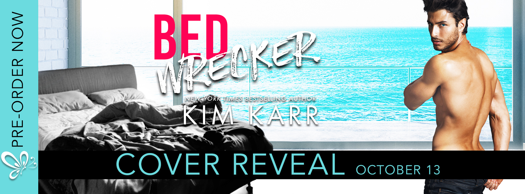 Bed Wrecker by Kim Karr #CoverReveal @authorkimkarr