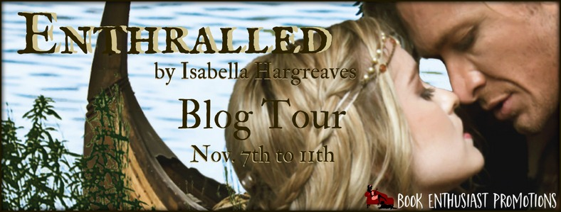 Enthralled by Isabella Hargreaves #BlogTour @IsabellaHAuthor