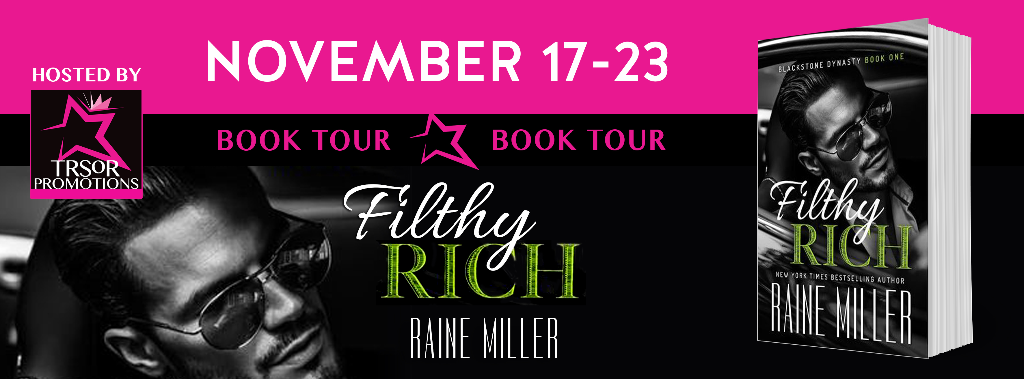 Filthy Rich by Raine Miller Blog Tour #Review