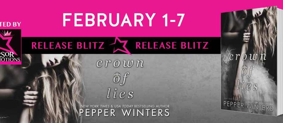Crown of Lies by Pepper Winters #NewlyReleased