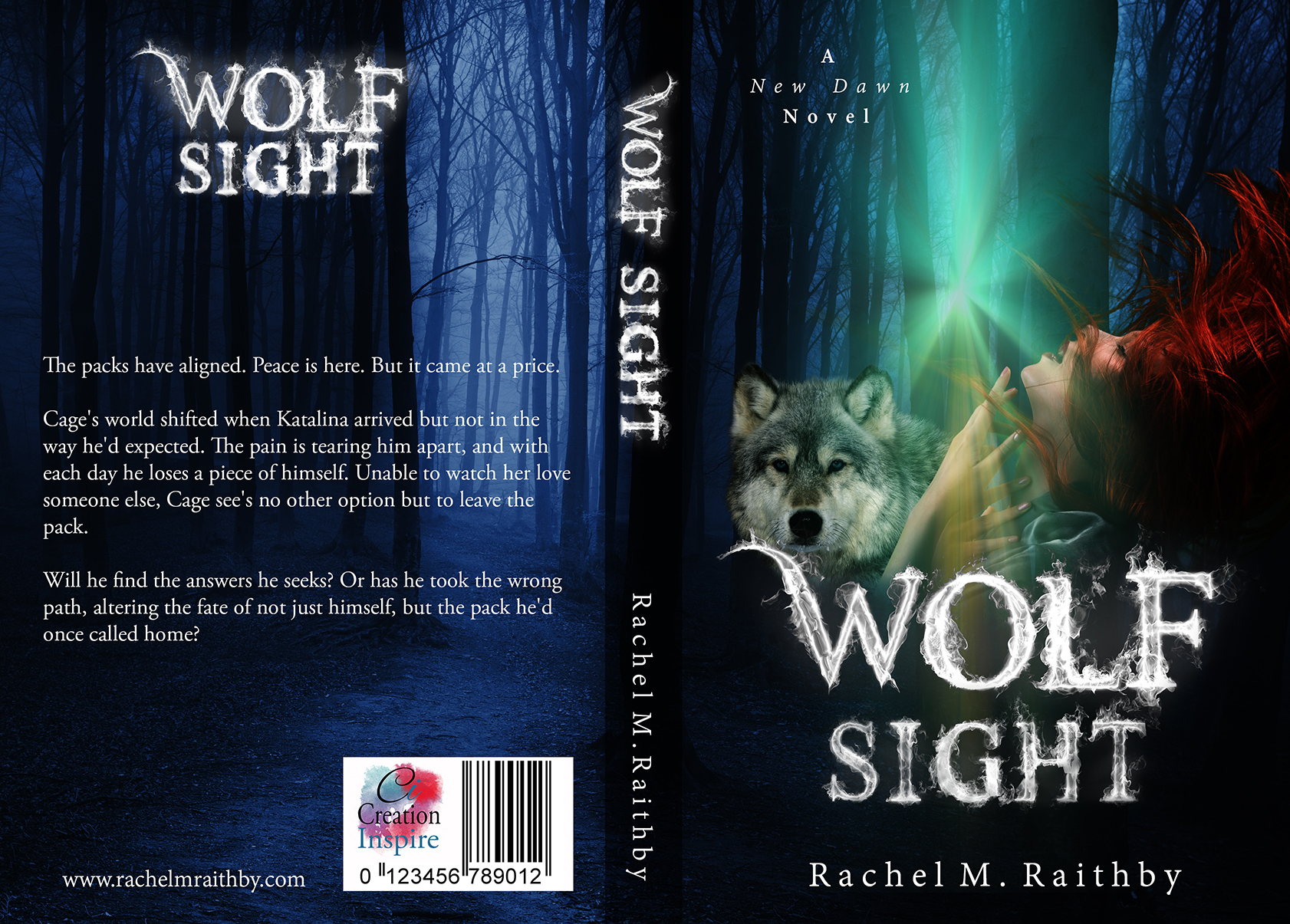 Wolf Sight by Rachel M. Raithby #CoverReveal