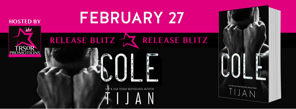 Cole by Tijan Release Blitz #Review #5Stars  TijansBooks