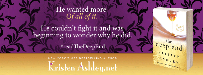 The Deep End by Kristen Ashley #ReleaseBlitz