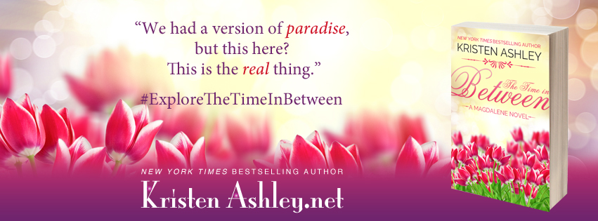 The Time in Between by Kristen Ashley #CoverReveal #Preorder