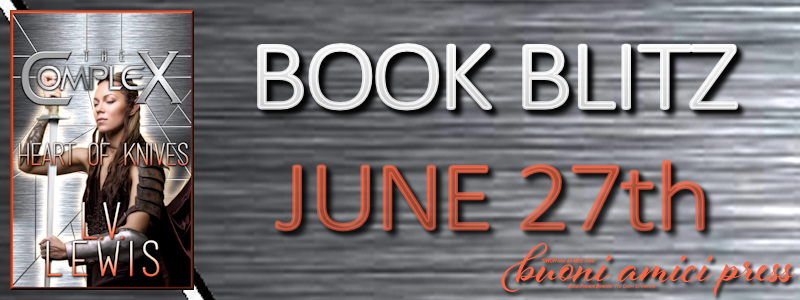 Book Blitz- Heart of Knives By LV Lewis #Review
