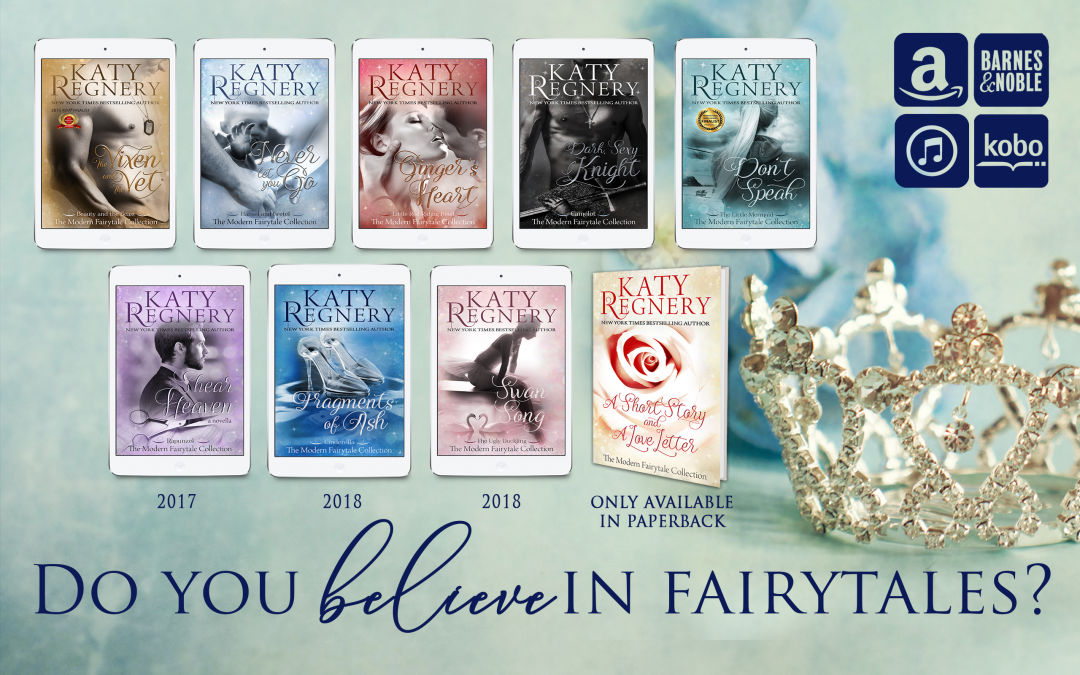 Katy Regnery's Modern Fairytale Collection New Cover Reveals #coverreveal @katyregnery
