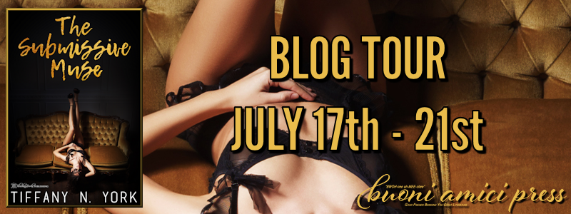 The Submissive Muse by Tiffany N. York #BlogTour