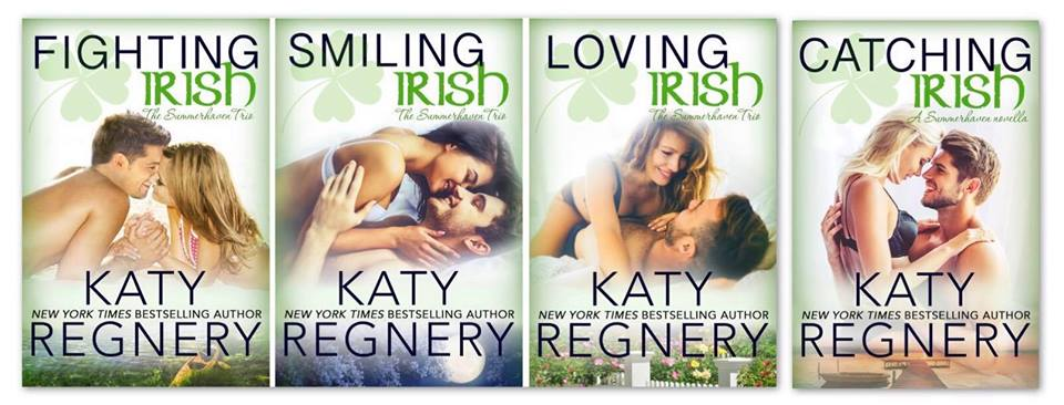 Catching Irish (The Summerhaven Trio #4) by Katy Regnery #releaseday @katyregnery